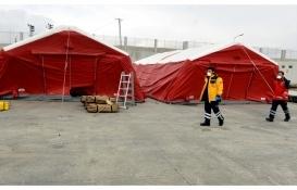 Çıldır-Aktaş ve Türkgözü sınır kapılarına 8 tane sahra hastanesi kuruldu!