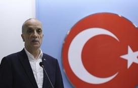 Ergün Atalay: Kıdem tazminatı kırmızı çizgimiz!