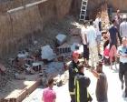 Manisa Akhisar'da inşaatta göçük: 4 yaralı!