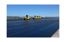 Trabzon Havalimanı pist yenileme çalışmaları ay sonunda tamamlanacak!