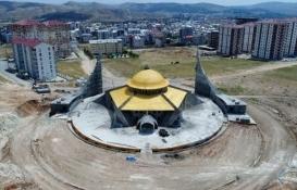 Sivas Yukarı Tekke Ay Yıldız Camisi yarın açılacak!