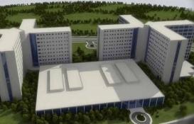 Bayraklı Şehir Hastanesi inşaatının yüzde 30'u tamam!