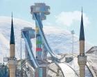 Erzurum atlama kulelerinde çalışmalara başlandı!
