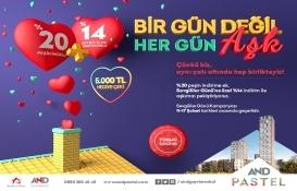 AND Pastel'de Sevgiler Günü'ne özel kampanya!