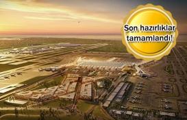 3. havalimanı tarihi sefer öncesi havadan görüntülendi!
