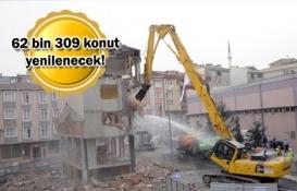 TOKİ İstanbul ve Ankara'da dönüşüme başladı!
