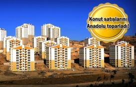 2018'de konut sektörünü Anadolu sırtladı!