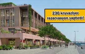 Galataport İstanbul kapılarını
