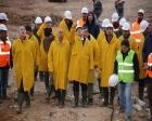 Ergün Turan, Karaman'daki inşaatları inceledi!
