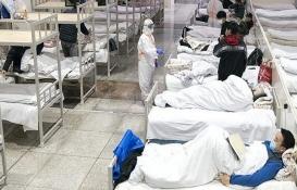 Çin Wuhan'da kabin hastane inşaatını 100 milyon kişi canlı izledi!