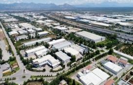 Antalya OSB'de 6.5 milyon TL'ye satılık fabrika!