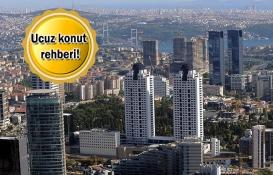 İstanbul'un ucuz bölgelerindeki 50 konut projesi!