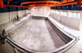 Osmangazi Yeni Karaman Yüzme Havuzu'nun inşaatı tamamlanıyor!
