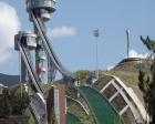 Erzurum'daki atlama kuleleri EYOWF 2017'ye yetiştiriliyor!