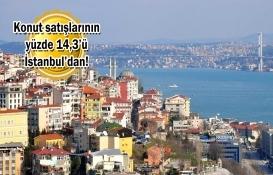 İstanbul'da Nisan'da 6 bin 113 konut satıldı! Fiyatlar arttı mı?