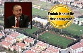 Galatasaray Florya arazisinin tapusunu aldı!