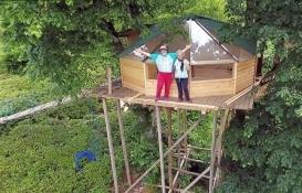 Artvin Arhavi'deki ağaç evlere talepler arttı!