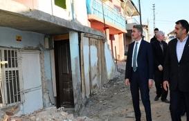 Malatya Valisi Aydın Baruş, depremden etkilenen ilçeleri inceledi!