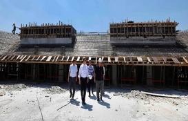 Kocaeli Darıca Spor Salonu'nun inşaatı tam gaz!