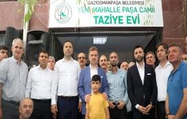 Gaziosmanpaşa Paşa Camii Taziye Evi hizmete açıldı!