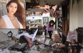 Blanca Blanco'nun California'daki evi kül oldu!