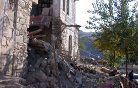 Kilis'te kerpiç ev çöktü: 1 kişi yaralandı!