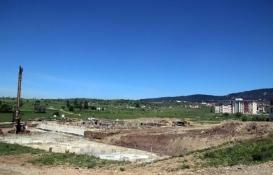 Gerede'de KYK'nın yurt inşaatı yükseliyor!