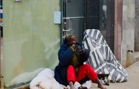 New York'ta metroda yaşayan evsizler tartışması!