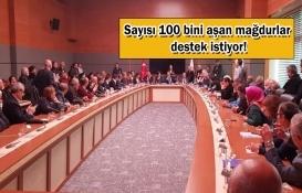 Konut mağdurları Ankara'ya gidiyor!
