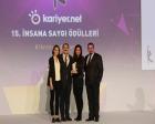 Vaillant Türkiye İK ekibine 4. İnsana Saygı Ödülü mı aldı