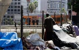 Los Angeles'ta evsiz oranı arttı!