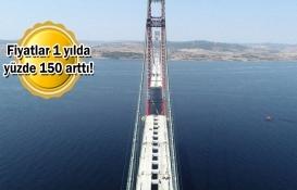 1915 Çanakkale Köprüsü arsa fiyatlarını katladı!