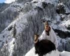 Rize'de yabancı avcılar keçi avlayabilmek için binlerce lira harcıyor!