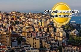 İkinci el konutta aylık taksit hesaplama!
