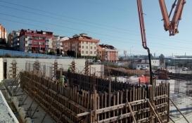 Gebze Spor Kompleksi'nin çelik konstrüksiyon çalışmaları başladı!