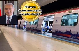İstanbul metro hattında Londra'yı geçecek!