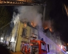 Almanya'da Türklerin yaşadığı bir binada yangın çıktı!