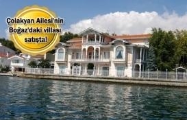 İstanbul'un en pahalı villası 210 milyon liraya satılıyor!