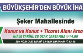 Kayseri Büyükşehir Belediyesi'nden satılık 14 arsa!