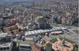 Taksim Camii'nin yüzde 90'ı tamamlandı!