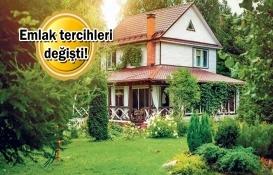 Müstakil evlere ve arazilere talep arttı!