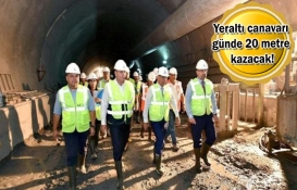 Fahrettin Altay-Narlıdere metrosunda tempo artıyor!