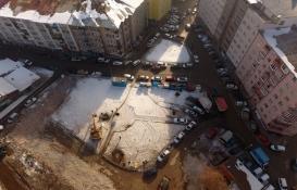 Erzurum Demirciler Çarşısı'nın yıkım çalışmaları tamamlandı!