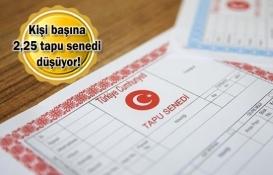Türkiye'de 184 milyonun üzerinde tapu senedi var!