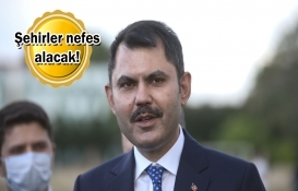 Murat Kurum'dan her ile millet bahçesi müjdesi!
