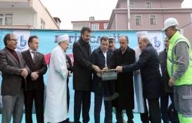 Bağcılar'da kentsel dönüşümle yıkılan Fetih Camii'nin temeli atıldı!