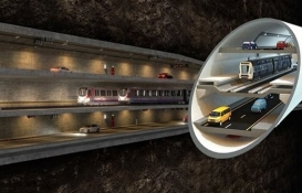 3 Katlı Büyük İstanbul Tüneli'nde son aşamaya gelindi!