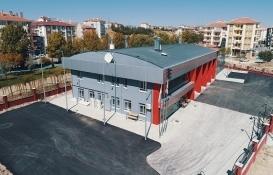 Çubuk itfaiye binası hizmete açıldı!