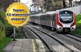 Halkalı-Gebze Marmaray Hattı nereden geçecek?
