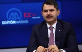 Murat Kurum'dan kaçak yapı açıklaması!